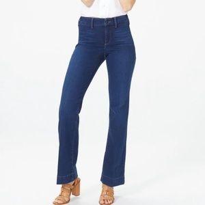 NYDJ medium wash high waist boot cut